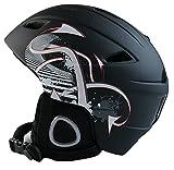 AIDY スキーヘルメット スノーボード用ヘルメット スノボヘルメット スキー用プロテクター 大人用 一体成型