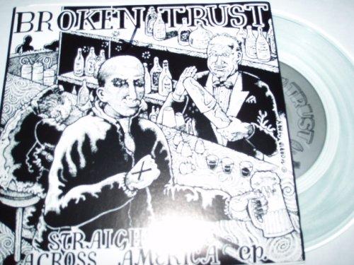 Straight Edge Across America - Clear Vinyl Seven Inch