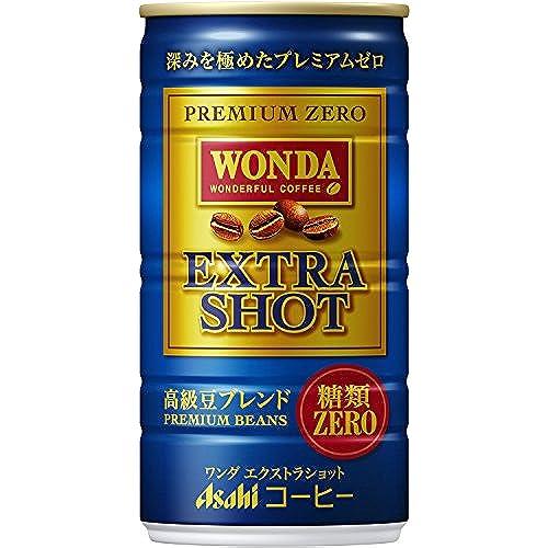 [일본 아사히 캔커피 원다 WONDA] 아사히 음료 원 다 엑스트라 쇼트 185ml×30개