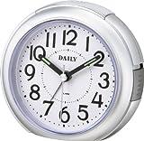 DAILY (デイリー) 目覚し時計 RA21 音の静かな連続秒針 電子音アラーム 8REA21DA19