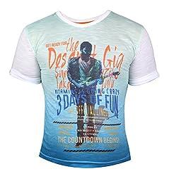 Vitamins Boys' T-Shirt (08B-484-6-A.Blue_Light Blue_6 - 7 Years)
