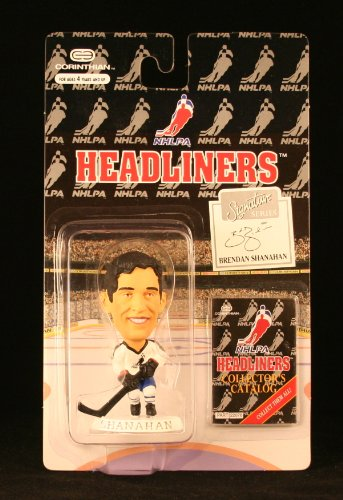 BRENDAN SHANAHAN / NHLPA SIGNATURE SERIES * 3 INCH * 1996 NHL Headliners Hockey Collector Figure