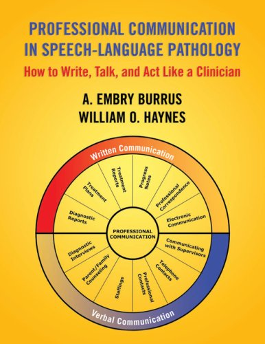 Professional Communication in Speech Language Pathology:...