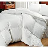 """Super Oversized - High Quality - Down Alternative Comforter - Fits Pillow Top Beds - King 110"""" x 96"""" - White - Exclusively by BlowOut Bedding RN #142035"""