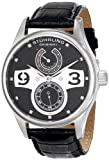 Stuhrling Original Mens 712.02 Leisure Automatic Power Reserve Leather Watch
