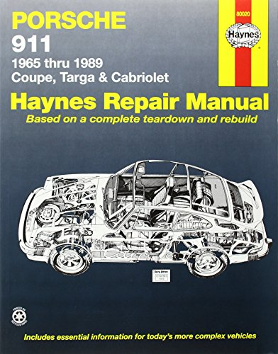 Porsche 911: Automotive Repair Manual, 1965 To 1989 - Coupe, Targa & Cabriolet front-400302
