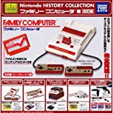 SR Nintendo HISTORY COLLECTION ファミリーコンピュータ編 ガチャ タカラトミーアーツ(シークレット付き全6種フルコンプセット)