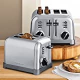 Cuisinart Classic Stainless-Steel Toaster: Cuisinart CPT-160 Metal Classic 2-Slice Toaster, Brushed Stainless