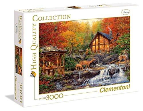 Clementoni 33540.4 - Puzzle Herbst, 3000 Teile