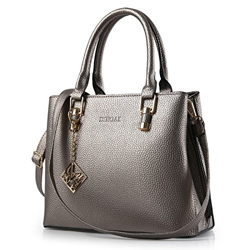 koson-man-womens-noble-pu-leather-elegance-charming-modern-handbag-shoulder-bagsgrey