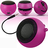 Guilty Gadgets � - Mini Portable Rechargeable Speakers For Kindle, Fire HD, Fire HD 8.9, DX, Fire, International, Keyboard, Paper White, WHSMith Kobo Vox, Asus Nexus 7 2