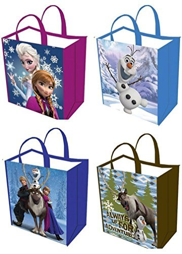 Disney Frozen Tote Bags (One Bag Per Order- Assorted Styles) - 1