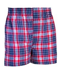 Fruit of the Loom Boys' Toddler 2pk Tartan Boxer