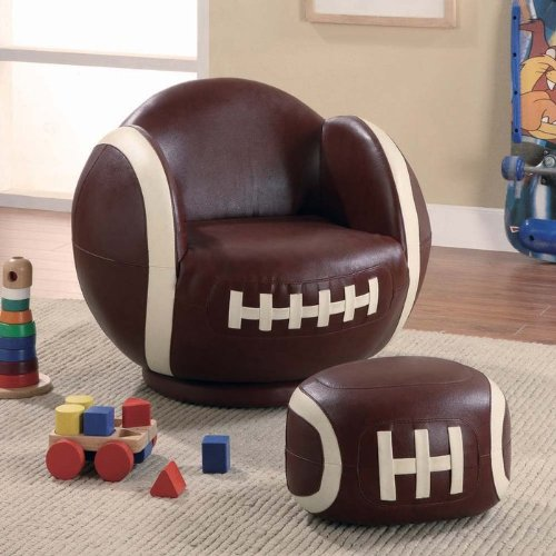 Coaster Home Furnishings Casual Chair, White And Brown front-343779
