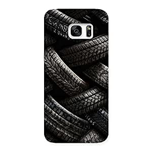 Cute Knot Tyre Back Case Cover for Galaxy S7 Edge