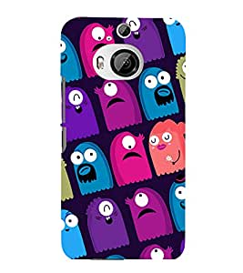 printtech Cartoon Pattern multiple Back Case Cover for HTC One M9+::HTC One M9 Plus