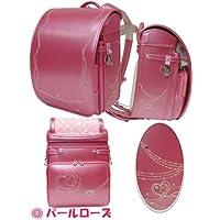 フィットちゃん ハート刺繍ランドセル ハートキューブ 女の子用 2014年度モデル A4フラットファイル対応 1154 (パールローズ)