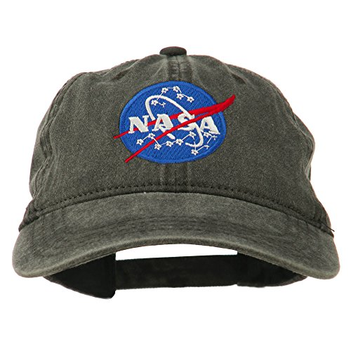 nasa-insignia-embroidered-pigment-dyed-cap-black-osfm