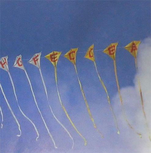 工作キット オリジナル凧制作キット 十連凧