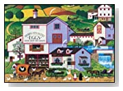300 Piece Charles Wysocki Virginia's Nest Jigsaw Puzzle