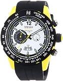 Nautec No Limit Herren-Armbanduhr XL Zero-Yon 2 Chronograph Quarz Kautschuk ZY2 QZ/RBPCBKWH-YL