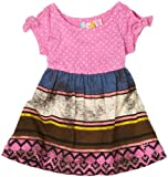 Roxy Teenie Wahine Littles Dress, Fuchsia, 12 Months