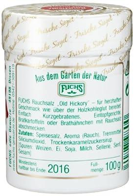 """Fuchs Rauchsalz """"Old Hickory"""", 2er Pack (2 x 100 g) von FUCHS bei Gewürze Shop"""
