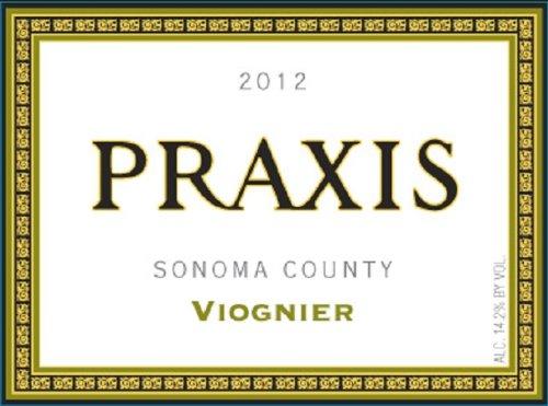 2012 Praxis Sonoma County Viognier 750 Ml