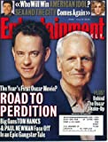 Entertainment Weekly July 19 2002 Tom Hanks & Paul Newman in Road to Perdition, American Idol, Sam Mendes, Sex and the City, David Arquette in Eight Legged Freaks