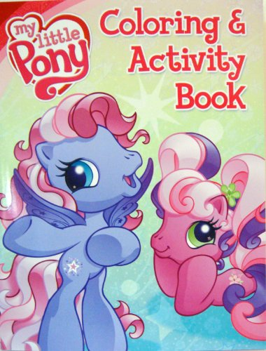 My Little Pony Coloring & Activity Book ~ Starstrong & Cheerilee Cover (96 Page) (Drawing My Little P compare prices)