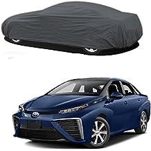 Millionaro - Heavy Duty Double Stiching Car Body Cover For Toyota Mirai (2016 Upwards) With MICROFIBER GLOVE