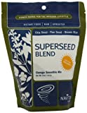 Navitas Naturals Sprouted Omega SuperSeed Blend, 8-Ounce