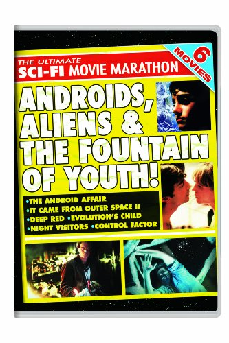 The Ultimate Sci-Fi Movie Marathon: The Android Affair / It Came From Outer Space II / Deep Red / Evolution's Child / Night Visitors / Control Factor (Deep Red compare prices)