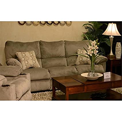 Catnapper Gavin Reclining Sofa in Taupe