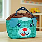 Kids' Drawstring Insulated Lunch Bag (Blu the Dog)