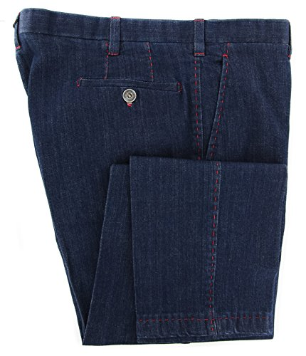 new-cesare-attolini-blue-jeans-extra-slim-40-56