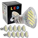 10x GU10 LED SPOT Lampe LED Strahler-...