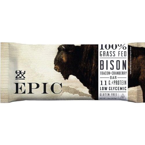 Epic Bar - Bison Bar Bacon + Cranberry - 1.5 Oz.