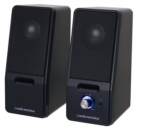 audio-technica Active Speaker AT-SP121 Black