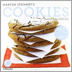 2012 Martha Stewart's Cookies Grid Calendar