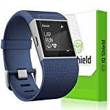 Fitbit Surge Screen Protector, IQ Shield® LiQuidSkin (6-Pack) Full Coverage Screen Protector for Fitbit Surge HD Clear Anti-Bubble Film - with Lifetime Warranty