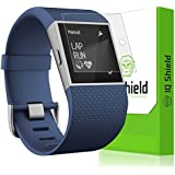 IQ Shield LiQuidSkin [6-Pack] - Fitbit Surge Screen Protector with Lifetime Replacement Warranty - High Definition (HD) Ultra Clear Screen Smart Film - Premium Protective Screen Guard - Extremely Smooth / Self-Healing / Bubble-Free Shield - Kit comes in Frustration-Free Retail Packaging