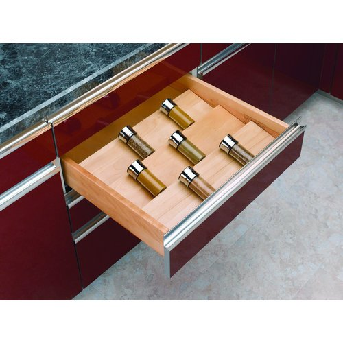 Rev-A-Shelf - 4SDI-24 - Wood Spice Drawer Insert