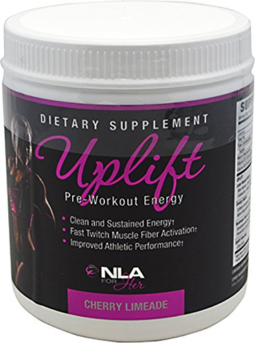 Nla For Her Uplift Pre Workout Supplement, Cherry Limeade, 40 Servings
