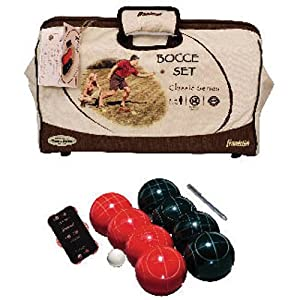 Buy Franklin Classic Tournament 107mm Bocce Set by Franklin