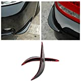 Universal Stick-on Car Rear Bumper Anti-rub Edge Lip Anticollision Protector Protection Guard