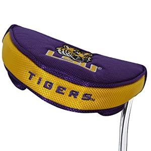 Buy NCAA LSU Tigers Golf Mallet Putter Cover by Team Effort