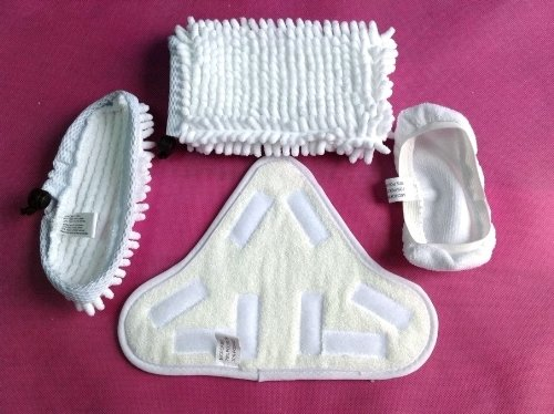 Microfiber Replacement Pads Compatible With H2O H20 Steamboy Steam Mop