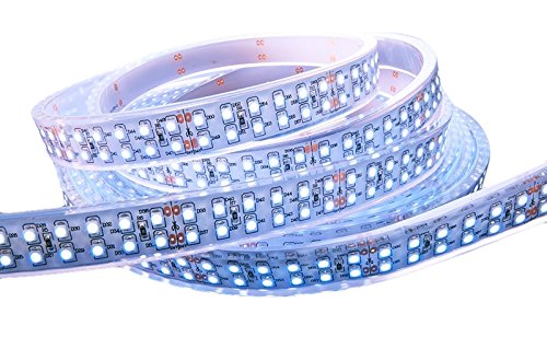 KapegoLED Flexibler LED Stripe, 3528, SMD, kaltweiß, 24 V DC, 57,60 W 422361
