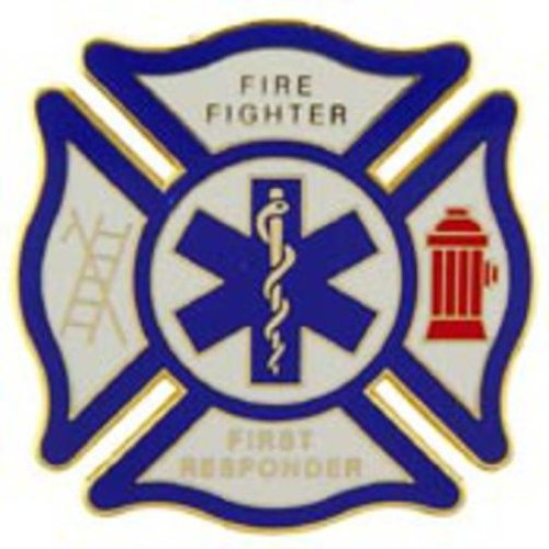 1st Responder EMT Shield Pin 1 1/2